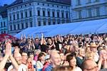 První den 56. ročníku festivalu Kmochův Kolín.