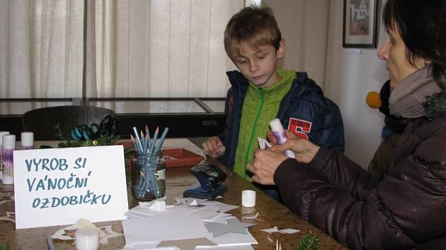 Adventní dílny pro děti v Podlipanském muzeu
