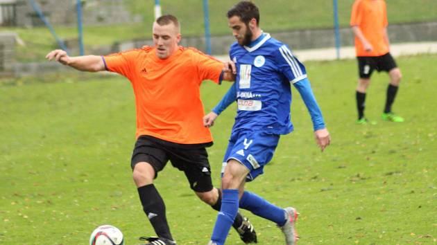 Z utkání FK Kolín - Letohrad (3:0).