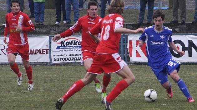 Z utkání FK Kolín - Králův Dvůr (6:1).