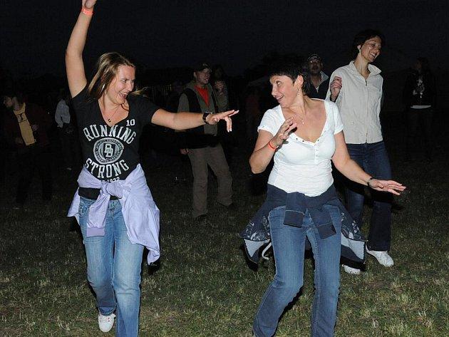 Rockový večírek ve Velkém Oseku