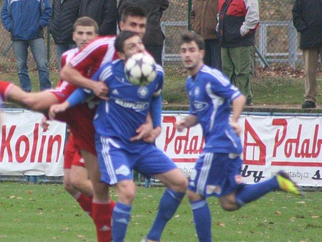 Z utkání FK Kolín - Štěchovice (3:0).