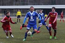 Z přípravného utkání FK Kolín - Vyšehrad (2:1).