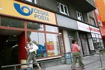Pošta na kolínském Zálabí.