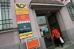 Pošta v Pražské ulici.