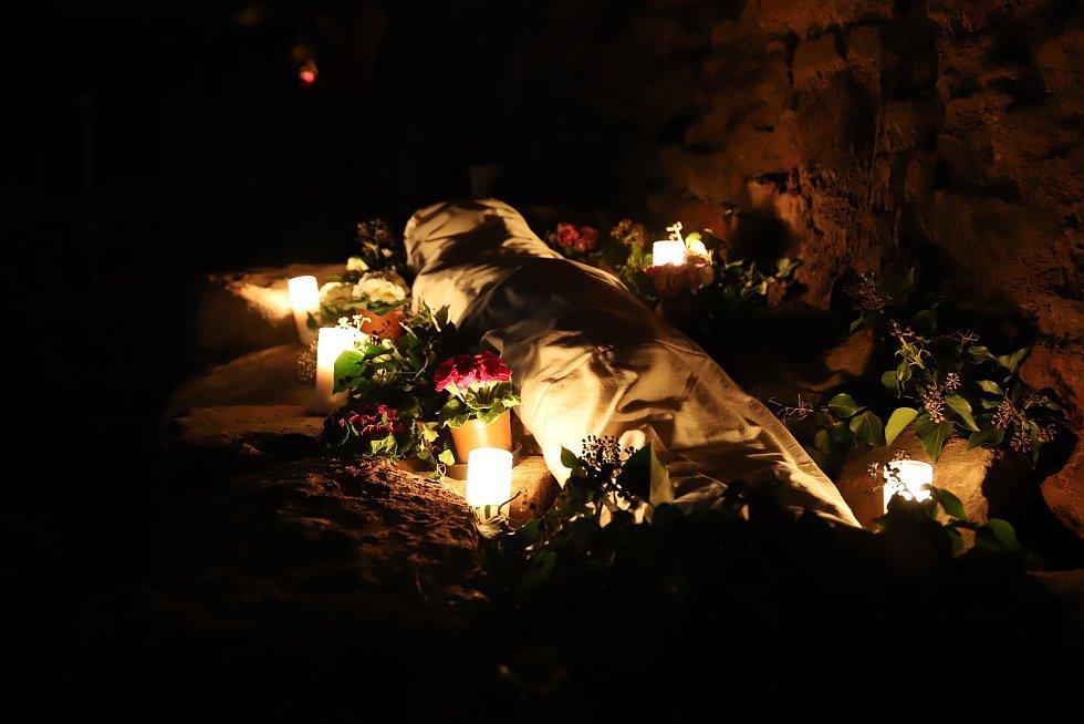 Ježíšův hrob v Českém Brodě.