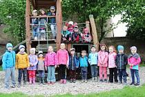 Děti v Mateřské škole v Nové Vsi I.