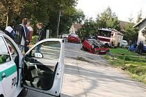 Dopravní nehoda v Břežanech II. 4. října