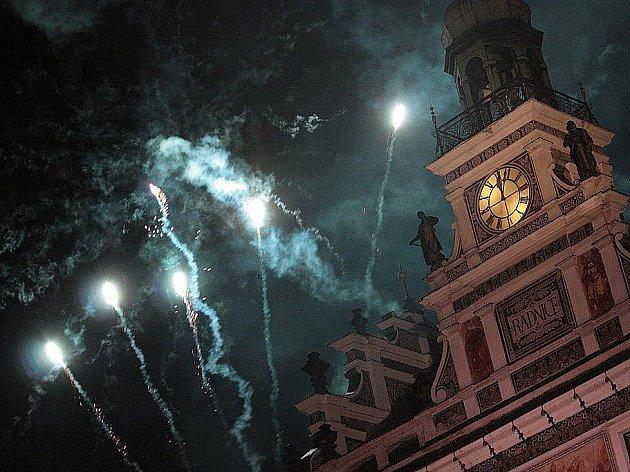 Půlnoční ohňostroj