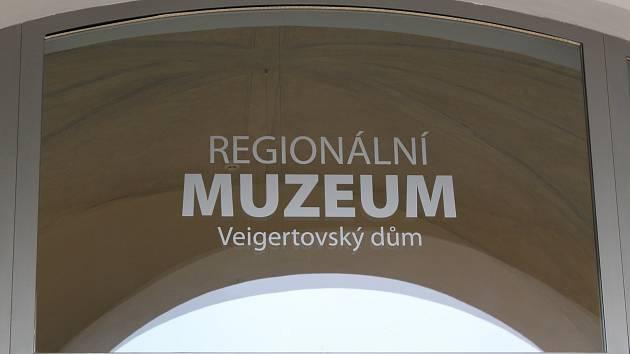 Veigertovský dům na Karlově náměstí - hlavní sídlo Regionálního muzea v Kolíně.