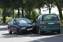Nehoda u Kauflandu
