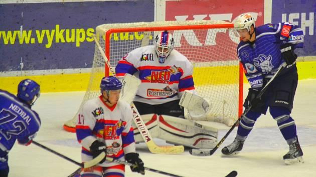 Kolínští hokejisté první letošní zvládli. Nymburk doma porazili 4:2.