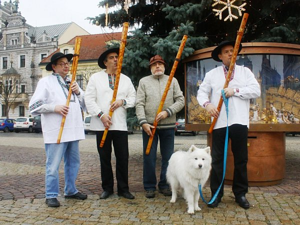 FUJARISTÉ Milan Staško, Jiří Novák, Stanislav Pokorný, Jan Hora (zleva).