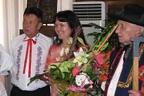 Z ceremoniálu slavnostního předávání ocenění Osobnost roku Miroslavě Jouzové