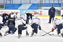 Hokejisté Kolína zahájili přípravu na ledě.
