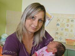 Nikola Nováková spatřila světlo světa 15. června 2015. Po porodu se chlubila mírami 50 centimetrů a 3615 gramů. V rodném Kolíně se z ní radují maminka Hana, tatínek Radek a tříletá sestřička Terezie.
