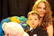 Edita Burešová s čtyřletým synem Tomíkem.