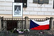 Město Kolín vzpomnělo na Jana Palacha tematickou přednáškou i pietním místem.