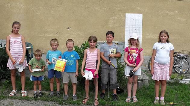 Týden s minigolfem v Pečkách