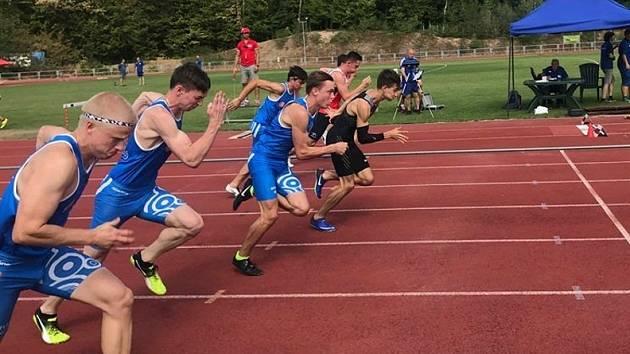 Doběh sprintu.