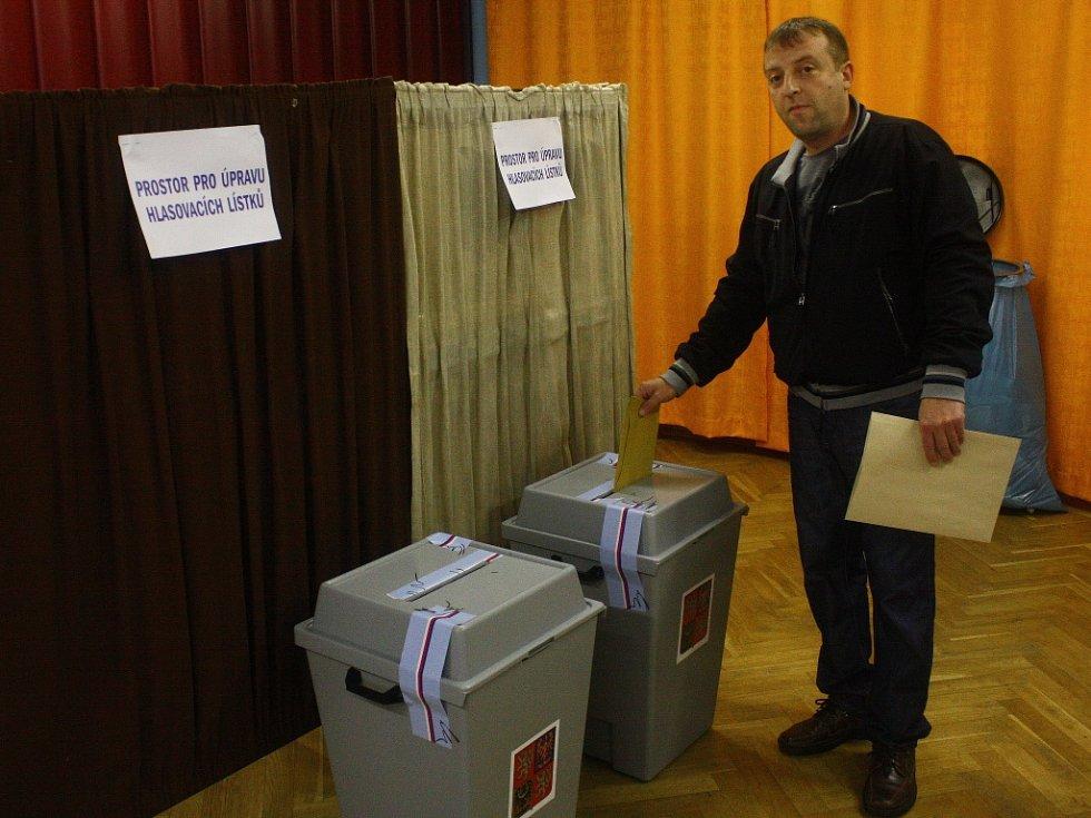 Druhý volební den v Kolíně.
