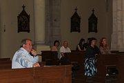 Noc kostelů 2017 Kostel Panny Marie Na Náměti v Kutné Hoře.