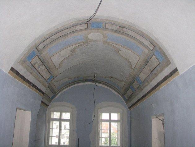Rekonstrukce Veigertovského domu, září 2015