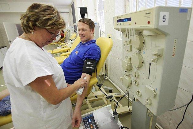 Kolínští basketbalisté darovali krev