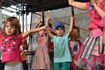 Posvícenské kulturní léto udělalo radost dětem i milovníkům písní Jaroslava Ježka.