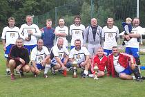 Fotbalová garda Kolína vyhrála třetí ročník Memoriálu Rudy Musílka.