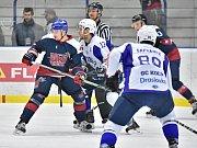 Z utkání SC Kolín - Nymburk (6:2).