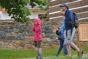 Letnice v kouřimském muzeu lidových staveb pokazilo počasí