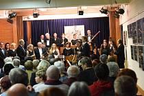Podzimní koncert Kolínské filharmonie v Komorním sále Městského společenského domu v Kolíně.