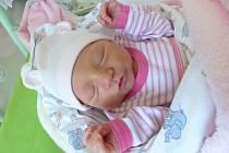 Patricie Benešová se narodila 30. prosince 2019 v kolínské porodnici a vážila 3125 g. Do Poděbrad odjela s maminkou Petrou a tatínkem Davidem.