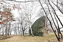 Chráněná památka Klepec v Přišimasech.