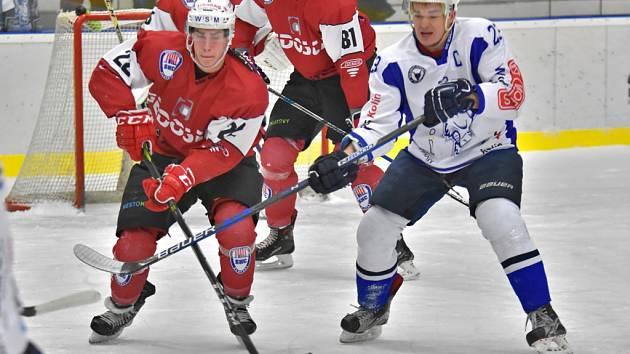 Hokejisté Kolína prohráli s Klatovy 0:3.