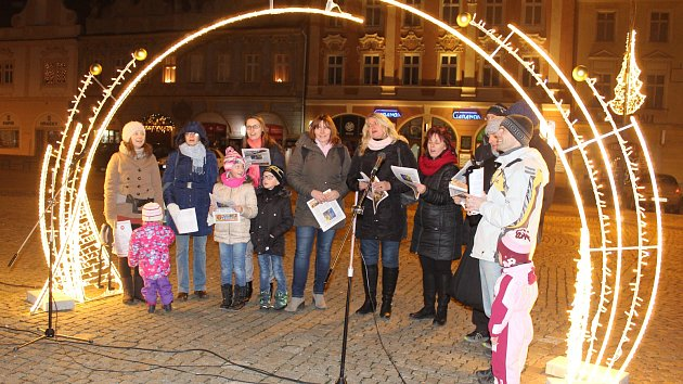 Česko zpívá koledy 2017 v Kolíně