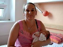 Prvním potomkem maminky Dany a tatínka Filipa z Dolních Chvatlin je syn. Filip Farkaš se poprvé rozhlédl 21. července 2013 s mírami 51 centimetr a 3530 gramů.