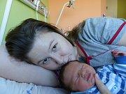 Alexandr Thűrner se narodil 12.11.2018 s mírami 3070 g a 47 cm. Ve Velkém Oseku ho přivítají sourozenci Leontýna (10), Daniel (5) a rodiče Richarda a Daniel.
