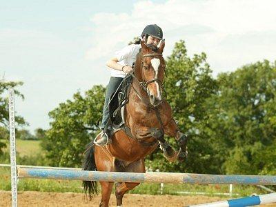 Jezdci v Miskovicích trénují pod vedením zkušeného cvičitele Lubomíra Štechera a vedoucí sdružení Ivany Hudcové.