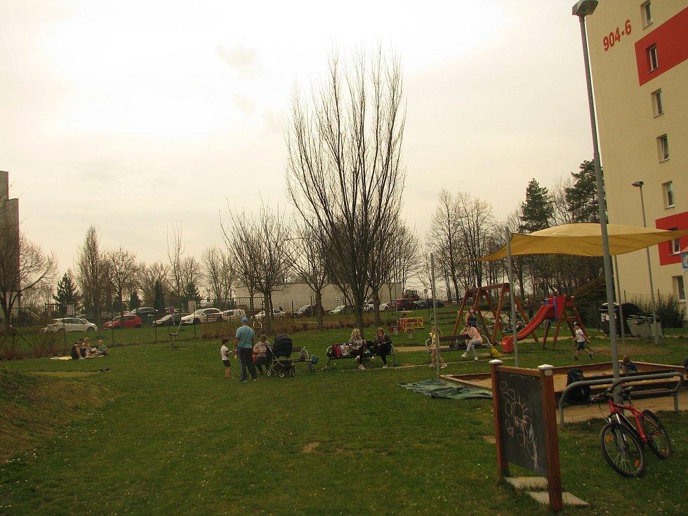 Nejmenší Kolíňáci vyrazili na dětská hřiště.