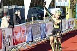 Mistrovství České republiky v cyklokrosu pro kategorie žáci, kadeti, kadetky a junioři v Kolíně, sobota 9. prosince 2017.