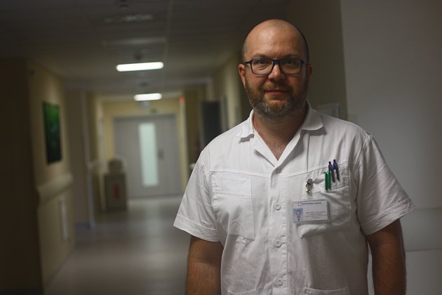 Aleš Toman, primář gynekologicko-porodnického oddělení Oblastní nemocnice vKolíně.