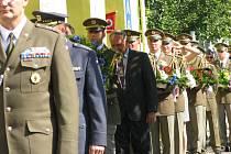 Pietní akt v uctění památky Václava Morávka v Kolíně
