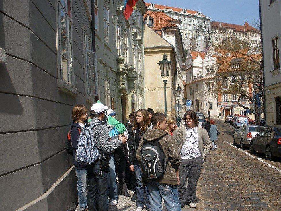 Žáci ZŠ Cerhenice v Praze
