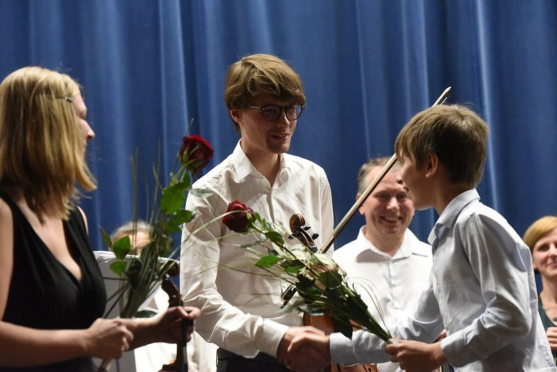 Smyčcový koncert se konal v Městském společenském domě.