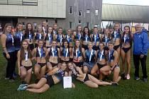 Juniorky Kolína jsou druhý nejlepší tým v republice.