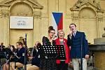 Městská hudba Františka Kmocha z Kolína.