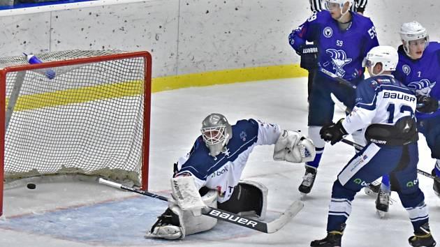 Hokejisté Kolína vyhráli nad Trutnovem až po nájezdech.