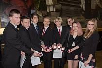 Slavnostní ceremonie v rámci programu The Duke of Edinburgh´s International Award v Brožíkově sále na Staroměstské radnici v Praze.